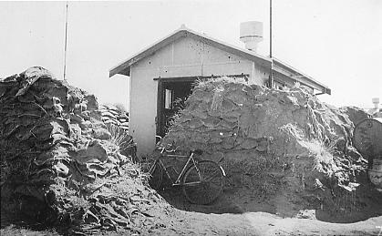 Wyndham air radio hut shot up March 3 1942